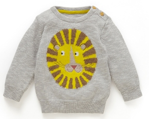 lion jumper from marks and spencer