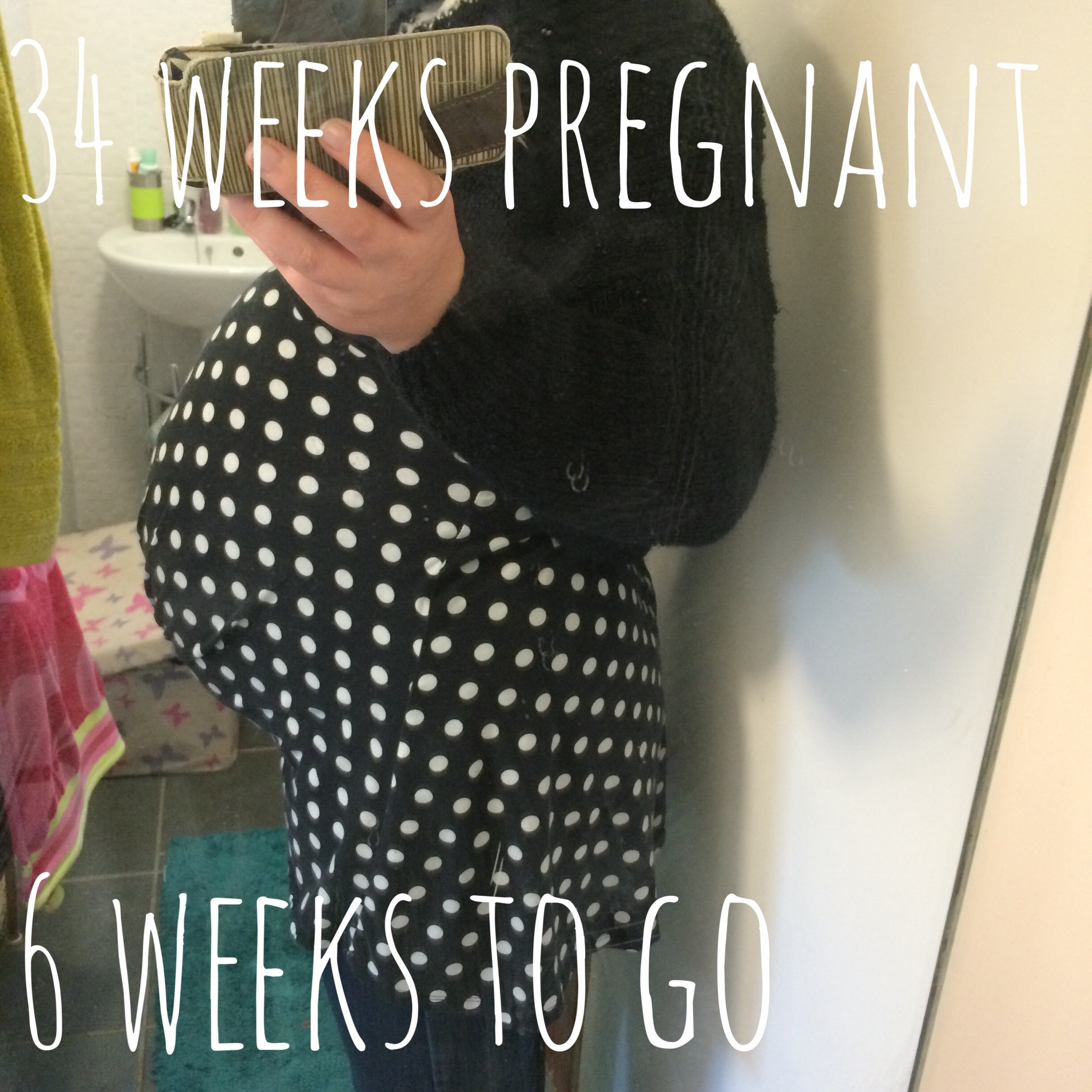 Bump Watch: Week 34 – things I'll miss about being pregnant