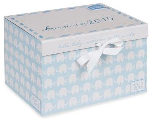born in 2015 baby box keepsake box from next