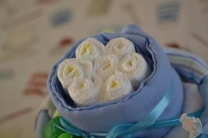 Eeyore nappy cake