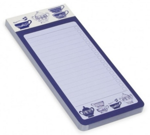 indigo dreams magnetic list pad from paperchase