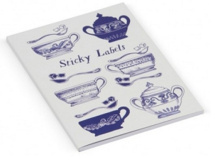 indigo dreams sticky labels from paperchase