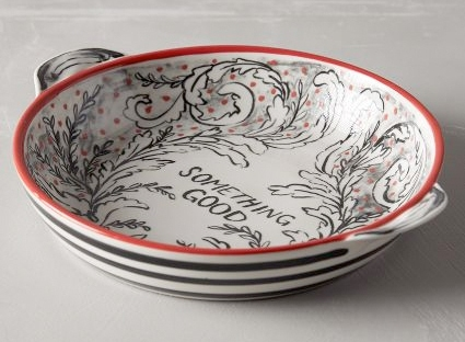 molly hatch pie dish from anthropologie