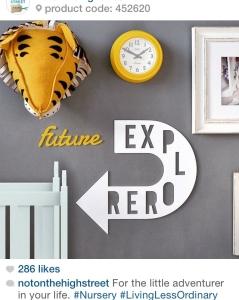 notonthehighstreet instagram