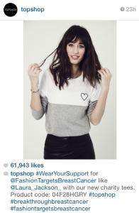 topshop instagram