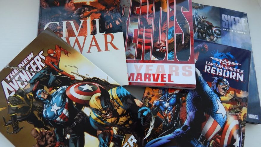 The Avengers books