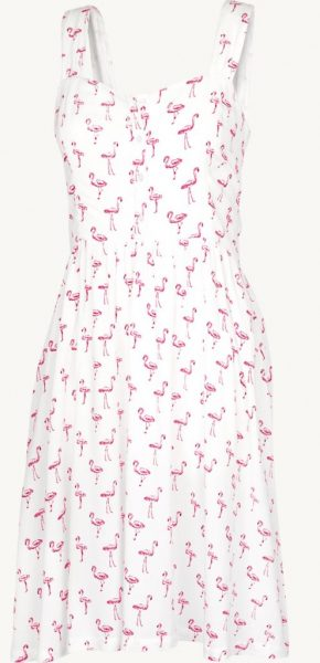 flamingo dress from fat face