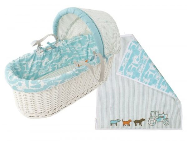 moses basket from baby joules