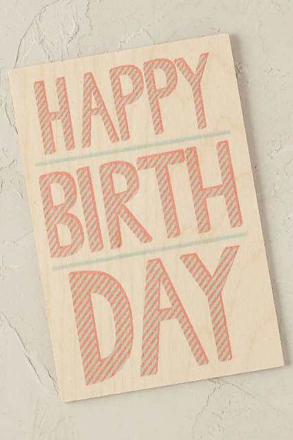 timbergram greeting card from anthropologie