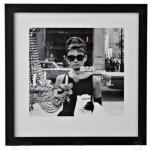 breakfast at tiffanys framed print from b&q