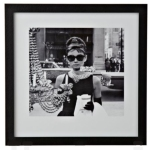 breakfast at tiffanys framed print from b&q