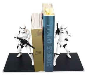 storm trooper bookends from i want one of those