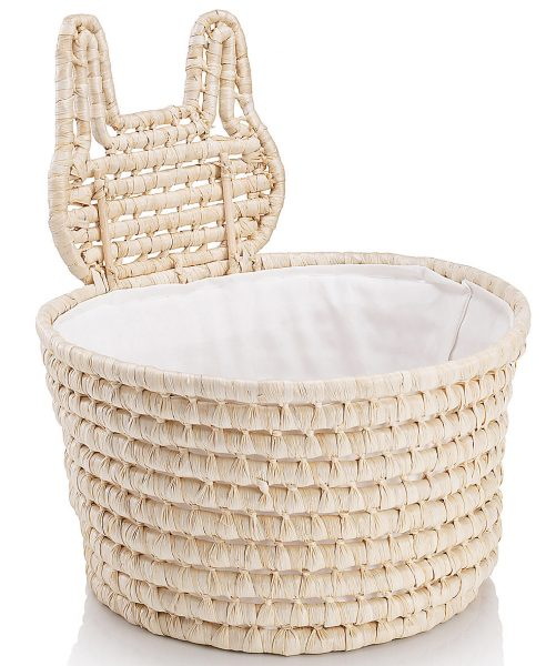 bunny wicker basket from marks and spencer