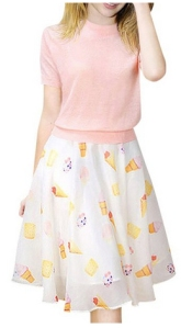 ice cream outfit from jollychic on amazon