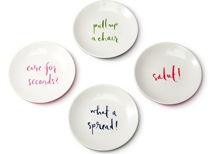 kate spade plates from amara