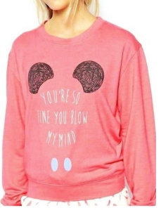 mickey mouse sweatshirt from jollychic on amazon