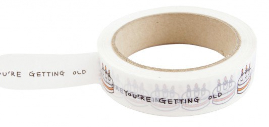 you're getting old tape from ohh deer