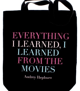 audrey hepburn tote bag from the national portrait gallery