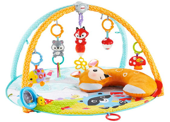deluxe baby play gym from argos