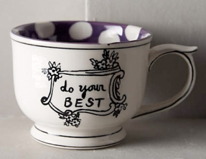do your best mug from anthropologie