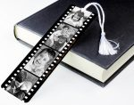 film reel bookmark from not on the high street