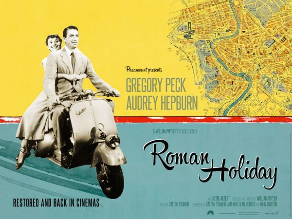 roman holiday film poster