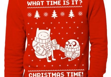 adventure time christmas jumper from merchoid