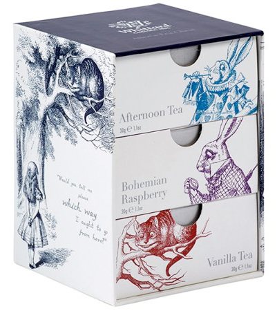 alice tea chest from whittard