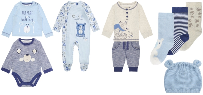 bear clothes from sainsburys
