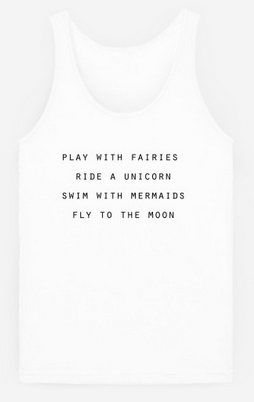 to do list tank top from rad