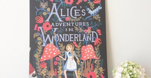 alice in wonderland calendar from not on the high street