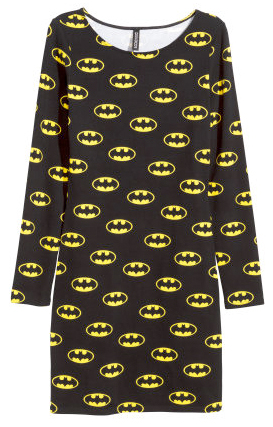 batman jersey dress from h&m