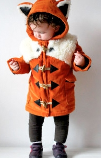childrens fox coat from not on the high street