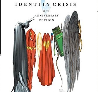 identity crisis 10th anniversary hardcover from amazon