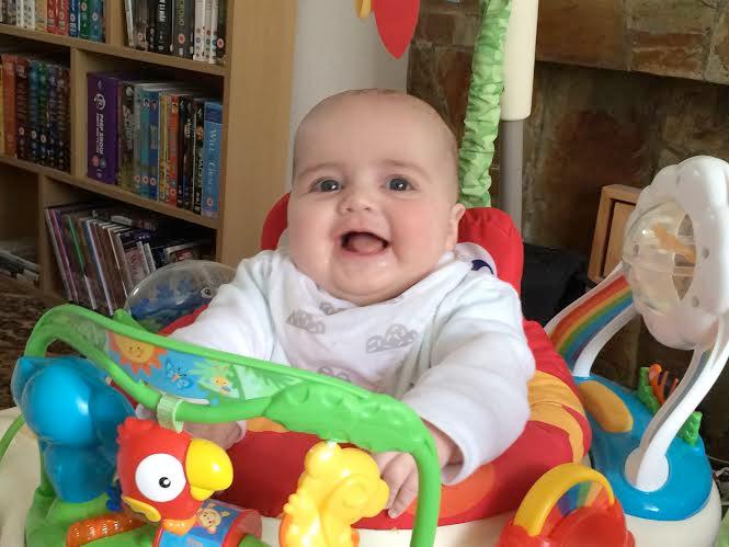 jenson jumperoo five months