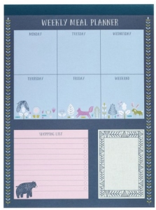 nordic nights meal planner from paperchase