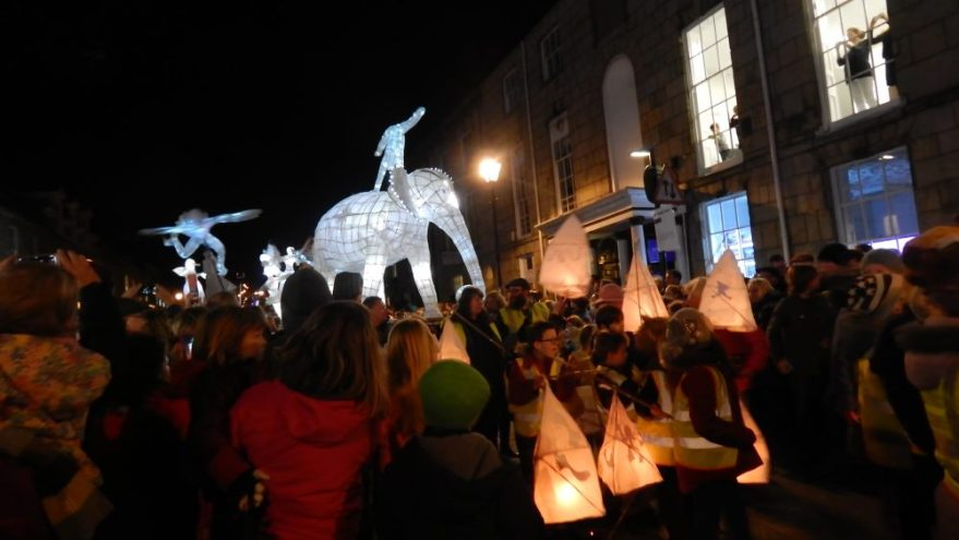 Truro City of Lights Parade 2015
