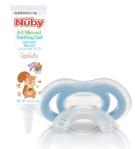 gum-eez and teething gel from nuby