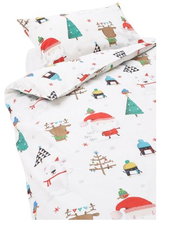 christmas bedding from next