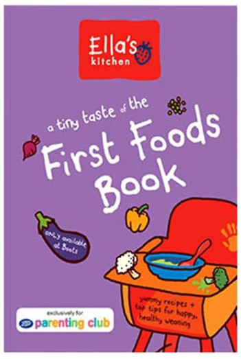 ella's kitchen first foods book from boots