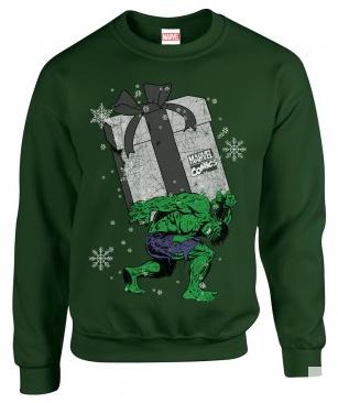 hulk christmas jumper from custom 51