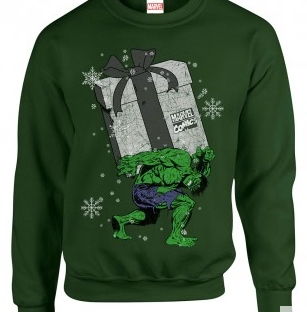 hulk christmas jumper from custom 51