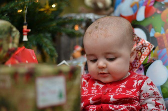 Jenson's first Christmas