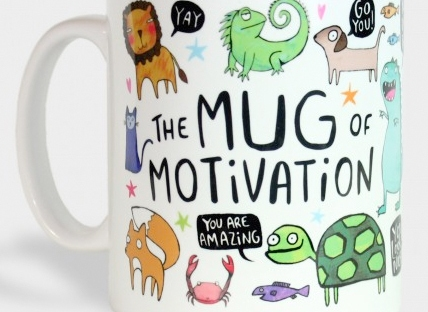 motivation mug from the lost lanes