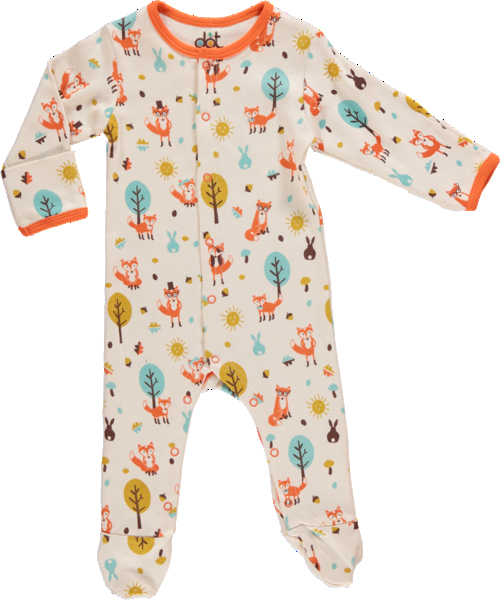 mr fox and friends babygrow from dot and co