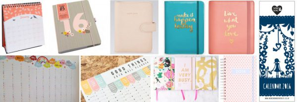ten of the best calendars and planners 2016