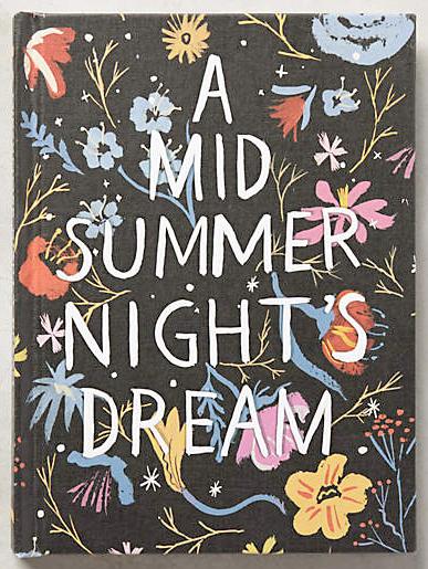 a midsummer nights dream journal from anthropologie