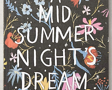 a midsummer nights dream journal from anthropologie