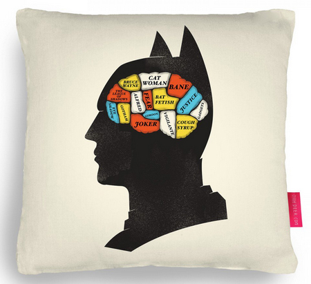 batman cushion from ohh deer
