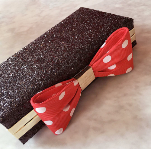 kate spade minnie mouse clutch